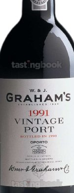 Fortified wine, Vintage Port 1991