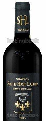 Red wine, Château Smith Haut Lafitte 2015