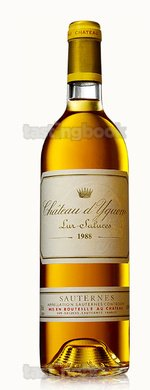 Sweet wine, d'Yquem 1988