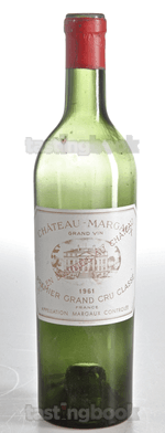 Red wine, Château Margaux 1961