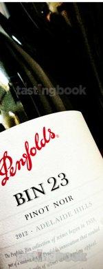 Red wine, Bin 23 Pinot Noir 2012