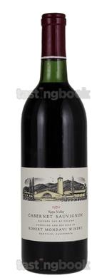 Red wine, Cabernet Sauvignon Reserve 1974
