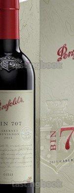 Red wine, Penfolds Bin 707 Cabernet Sauvignon 2015