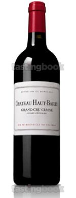 Red wine, Château Haut-Bailly 2002