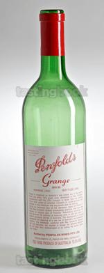 Red wine, Grange Hermitage 1990