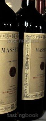 Red wine, Masseto 1997