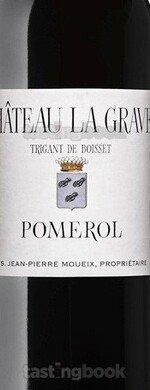 Red wine, Château La Grave à Pomerol 2015