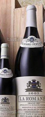 White wine, La Romanée  2003