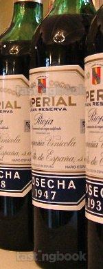 Red wine, Imperial Gran Reserva 1947