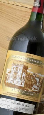 Red wine, Chateau Ducru-Beaucaillou 1995