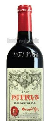 Red wine, Pétrus 2010