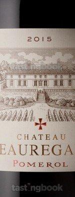 Red wine, Château Beauregard 2015