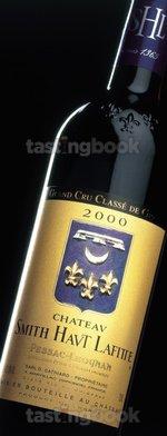 Red wine, Château Smith Haut Lafitte 2000