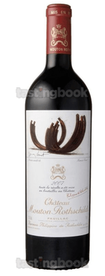 Red wine, Château Mouton-Rothschild 2007