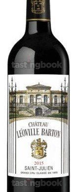 Red wine, Chateau Leoville-Barton 2015