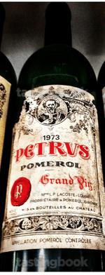 Red wine, Pétrus 1973