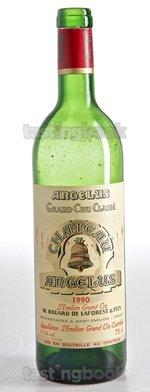 Red wine, Château Angelus 1990