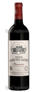 Red wine, Château Grand-Puy-Lacoste 2018