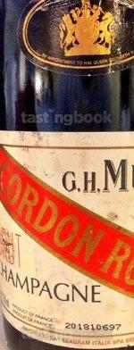 Sparkling wine, Cordon Rouge Brut NV (70's)