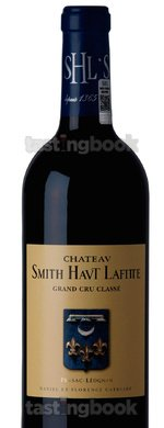 Red wine, Château Smith Haut Lafitte 2009