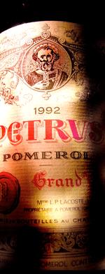 Red wine, Pétrus 1992