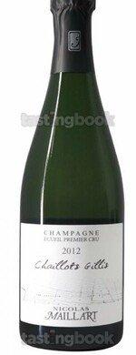Sparkling wine, Les Chaillots Gillis Blanc de Blancs Extra Brut 2014
