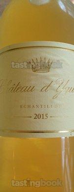 Sweet wine, d'Yquem 2015