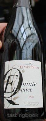 Sparkling wine, Evinte 2005