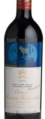 Red wine, Château Mouton-Rothschild 2008