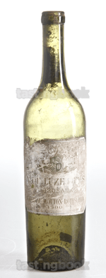 Red wine, Château Mouton-Rothschild 1900