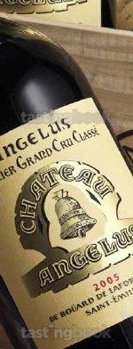 Red wine, Château Angelus 2005