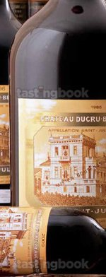 Red wine, Chateau Ducru-Beaucaillou 1986