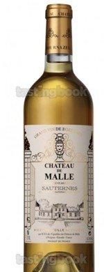 Sweet wine, Château de Malle 2016
