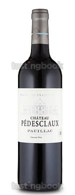 Red wine, Château Pedesclaux 2014