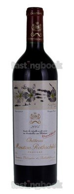 Red wine, Château Mouton-Rothschild 2005