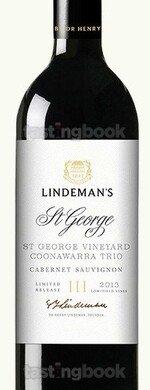 Red wine, Lindemans Trio St George 2010