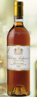 Sweet wine, Château Suduiraut 1967