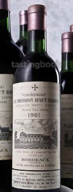 Red wine, La Mission Haut Brion 1961