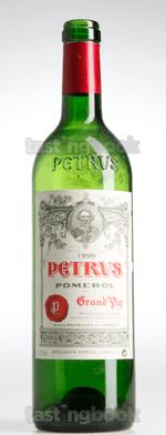 Red wine, Pétrus 1998