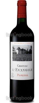 Red wine, Château L´Evangile 2010