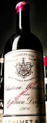 Red wine, Montrose 1906