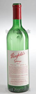 Red wine, Grange Hermitage 1988