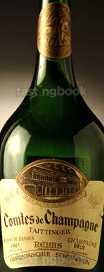 Sparkling wine, Comtes de Champagne 1961