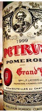 Red wine, Pétrus 1999