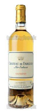 Sweet wine, Château de Fargues 2016