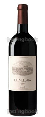 Red wine, Ornellaia 1997