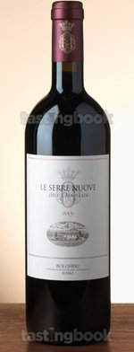Red wine, Le Serre Nuove dell'Ornellaia 2009