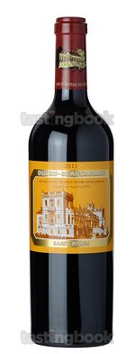 Red wine, Chateau Ducru-Beaucaillou 2011