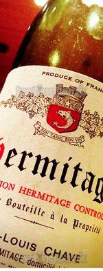 Red wine, Hermitage 1978