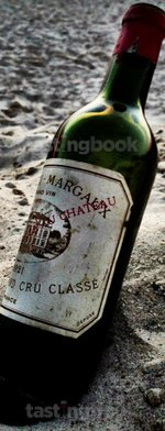 Red wine, Château Margaux 1921